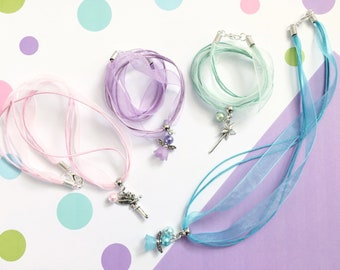 Fairy Necklace, Party Bag Filler, Girl Party Favor, Birthday Favors, Party Favors, Loot Bag Filler, Fairy Jewellery