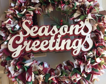 Seasoning Greeting Wreath