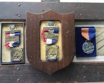 1953 NRA National Rifle Association marksmenshio medals