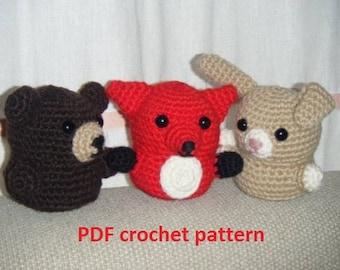 Forest Dwellers vol.1 - crochet pattern PDF
