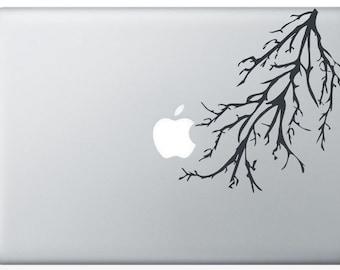 Tree Branch laptop DECAL- macbook iPad computer- vinyl sticker