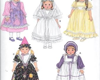 "Simplicity 3520 18"" American Girl Doll Wardrobe Sewing Pattern Faith Van Zanten UNCUT"