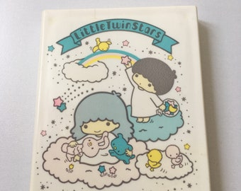 1976 little twin stars mirror and comb from Sanrio japan