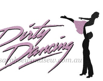 Dirty Dancing Machine Embroidery Design