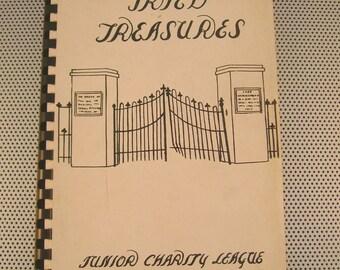 "Rare Vintage 1957 ""Tried Treasures"" Cookbook~Junior Charity League, Union, South Carolina"