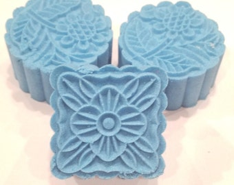 Chillax Shower Steamer,  Chill and Relax Shower Steamers Mooncake Shower Steamers, Moon Cake Shower Steamer