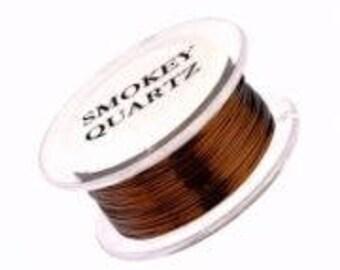 Smokey Quartz - 22 gauge - 100 feet - Parawire - Qty. 1   (PWSQ171)