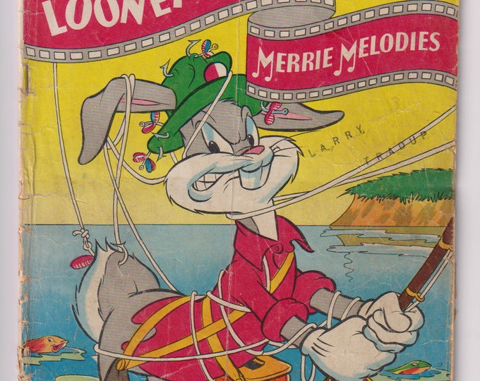 Looney Tunes and Merrie Melodies; Vol 1, 60, Golden Age Comic Book. GD (2.0). October 1946. Dell Comics