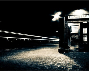 Flagstaff Train Station Fine Art Print