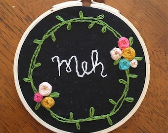 Meh- embroidery