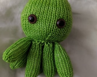 Limey octopus baby (brown eyes)