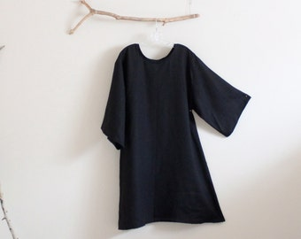 Reserved for S only /extra cost for adding dress length /  back yoke gathering / two patched pockets