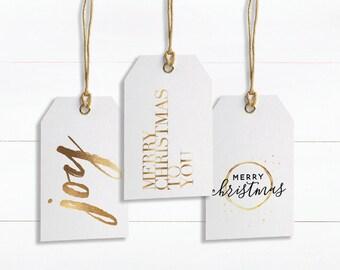 Christmas Tags Printable, Christmas Printable, Christmas tags, handwritten gift tag, printable gift tags, digital download