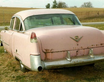 8x12 Photograph: 'Pink Cadillac'