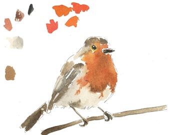 Oh hello little robin