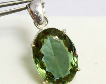 47.20Ct Certified Color Changing Alexandrite Pendant 925 Solid Sterling Silver AQ884
