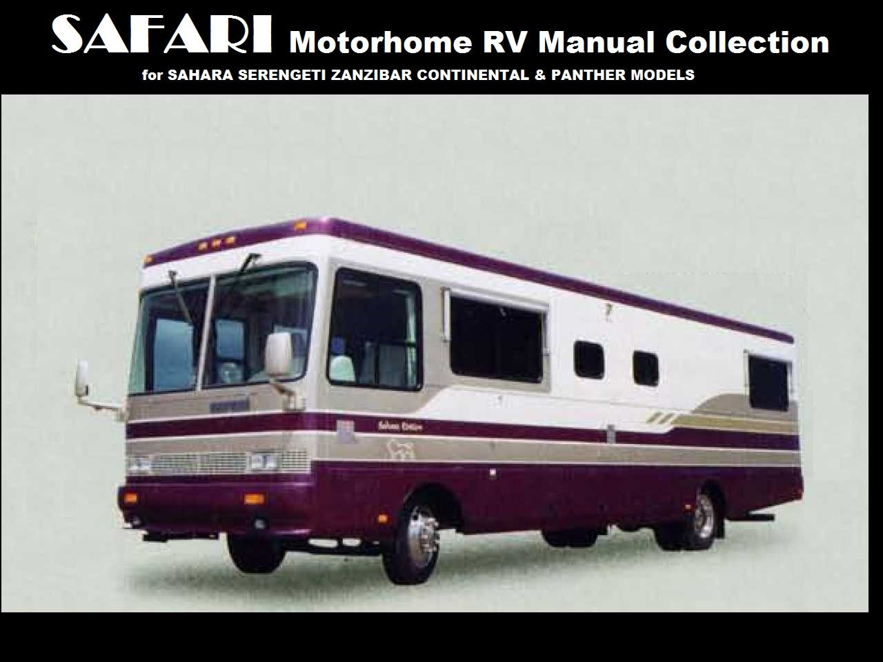 Wire Diagram 1995 Coachman Trusted Wiring Diagrams For Motorhomes Damon Challenger Motorhome Schematics 24 Safari Operations Manuals 480pg