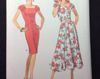 Butterick Fast & Easy Misses'/Misses' Petite Dress Pattern 3910 Size 14 - 16 - 18 - 20  Very Easy