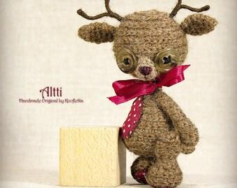 Altti - Original Handmade Reindeer/Deer/Moose/Collectable/Gift/Charm