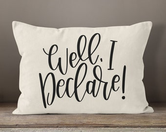 Southern SVG File Well I Declare Cute DIY Home Decor