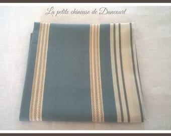 Coupon of Mas D'ousvan Marcus fabrics blue