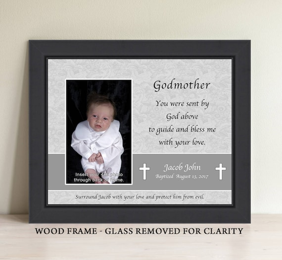 Personalized Godparent Godmother Godfather Gift Godparent