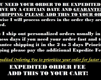 Expedited Ordering