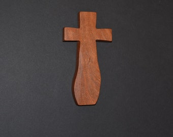 Unique Wood Cross; Christian; Cross Wall Decor; Wall Cross; Mesquite; Wedding Gift; Sympathy Gift; Free Ground Shipping USA; cc15-7061317-rs