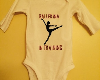 Baby Girl  Dance Onesie!
