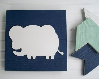 Elephant  Nursey Sign . Baby Boy . Elephant . Elephant Nursery . 3D Sign . Elephant Nursery Decor . Jungle Nursery . Big Boy Room