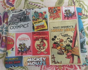 Classic Mickey and Friends Cosmetic Bag