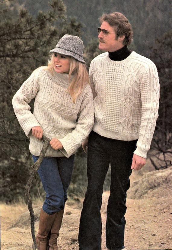 Vintage que hacen punto el patrón, patrones Vintage suéter, suéter ...