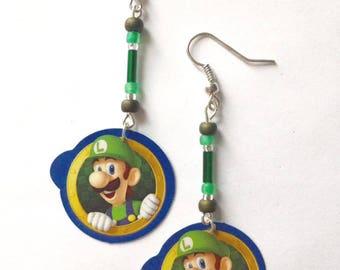 Luigi Earrings