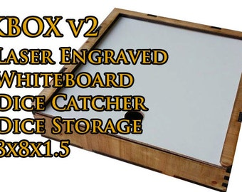 "KBOX ""Dutchess"" - Artisan Dice Tray and Whiteboard"
