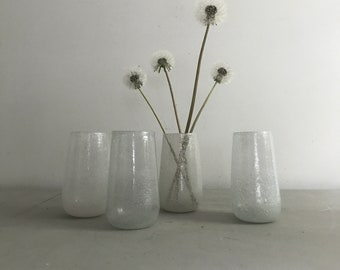 Hand Blown Tumblers / Set of Four