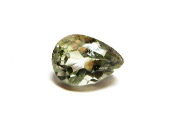 """Amethyst, green amethyst, loose gemstone, green. jewelry designing, wire wrapping,  """"Clear Green"""""""