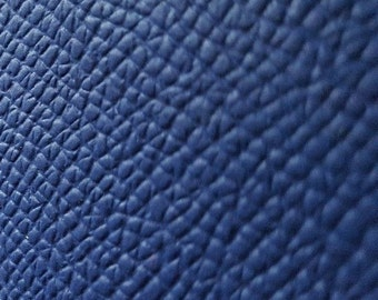 Blue Italian Leather hides 2m2 2mm thick