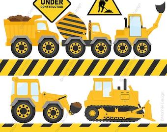 construction clipart etsy rh etsy com construction clipart border construction clipart images