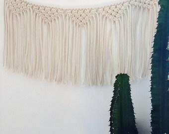 Wreath - Hanging macrame