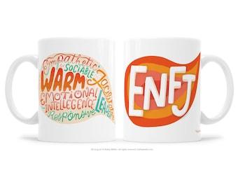 ENFJ Extrovert Gift MBTI Gift BFF Mug Support Mug Therapy Friendship Mug Woo Woo Gift Myers Briggs Gift Motivational Mug Inspirational Gift