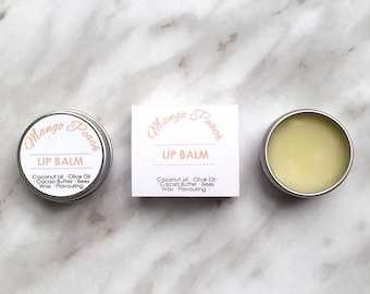 Mango Peach Lip Balm - Moisturising & Nourishing