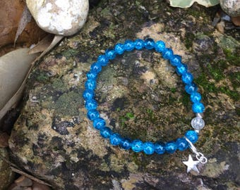Ocean blue syn/ treat tracking bracelet (15 count) dieting and slimming in the modern world without carrying around a diet diary!