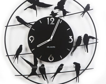 Bird clock Birdy The original !