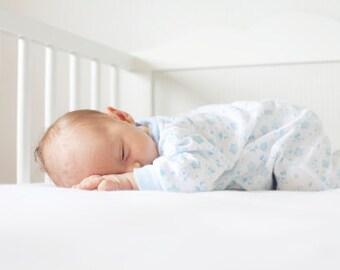 Fitted Crib Sheet, Organic Crib Sheet, Natural, Bedding, Baby, Nursery