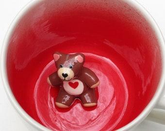 Teddy Bear Surprise Mug (In Stock)