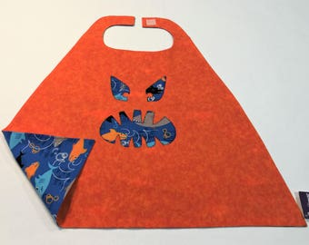Tot Size Superhero Shark Cape - Free Shipping in the USA
