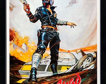Mad Max Movie Poster Framed Poster