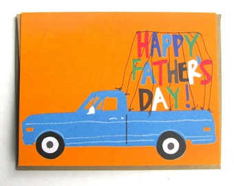 Pick Up Truck Father's Day Card