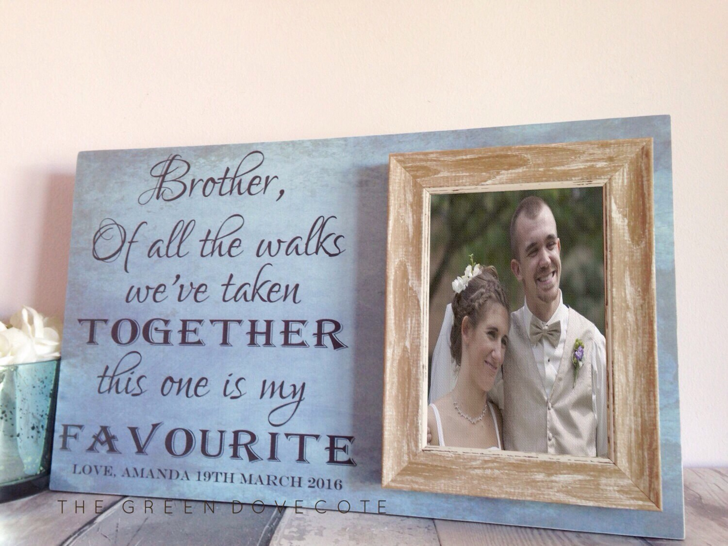Good Wedding Gifts For Brother: Wedding Gift For Brother Best Friend Gift Brother Of The