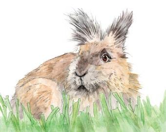 Custom DIGITAL Pet Portrait-Custom Pet Portrait-Custom Portrait-Custom Made-Wall Decor-Gift-Printable Art-Pet Lover-Rabbit-Bird-Dog-Cat
